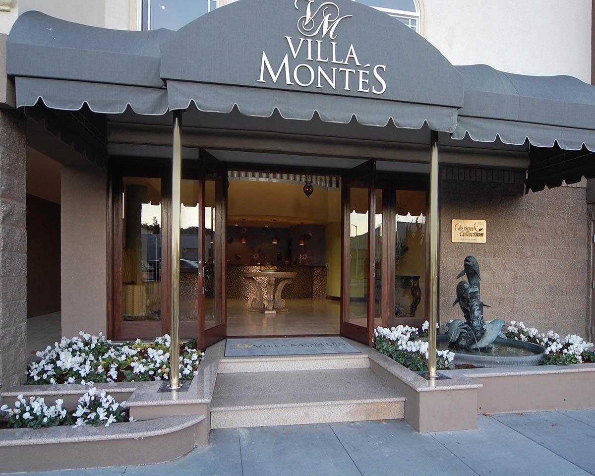 Villa Montes Hotel El Camino Real San Bruno Ca